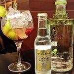 Un buenisimo Gin Tonic preparado por Juanito en el Lobby Bar