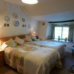 Great Sloncombe farm Twin room