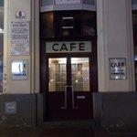 Entrance to Cafe Hawelka