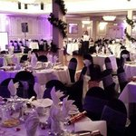 The Function Room ready for the Gala Dinner/Dance