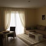 Blick in die Wohnzimmer der Appartements
