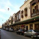 Una via principale della Mellah di Fes (Quartiere ebraico)