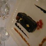 Buche de Noel praline, noisettes et pain d'épices