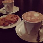 Hot chocolate & mallows and freshly baked cookies, part of the 'Snuggle Up' package