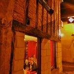 La Fourchette's charming corner location