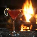Enjoy our specialty cocktails by our fireplace.