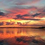 Sunset overlooking Lake Jackson from Don Jose