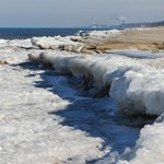 Shelf ice forming