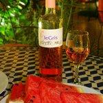 """""""Серое"""" марокканское вино и наш любимый арбуз"""