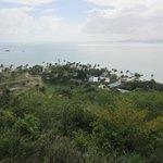 Hiking around Palomino Island