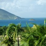 View from veranda, Mt. Nevis Hotel Restaurant