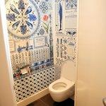 The toilette room