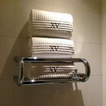 Towel warmer!  Nice touch.