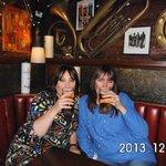 with friends in edinburgh (rose street) 'dirty dicks' boozer