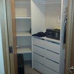 very ample closet
