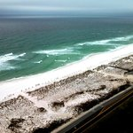 Gulf view from Tower 3 penthouse suite 2103