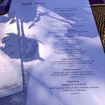 Simple menu, divine food