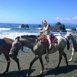 Horseback Riding arrange by the Hotel (on the beach in front of La Ponderosa)