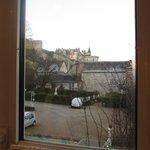 Vista da janela do banheiro - Castelo de Amboise