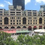 The view of the Mandela Square from our room.