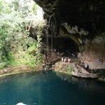 Vista suggestiva del Cenote