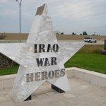 Iraq War Heroes monument.