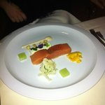 Spiced salmon with cauliflower and capers - a la ca
