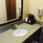 Sink (outside the bathroom)