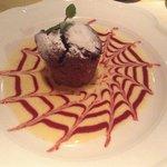 Шоколадный тортин