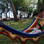 One of the many hammocks at Xalli!
