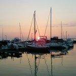 Sunset from Bottom Feeder's