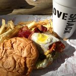 """The """"Dirty Love Burger"""" = AWESOME!"""