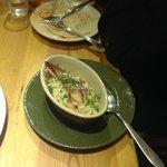 The delicious risotto