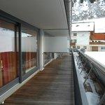 groot balkon