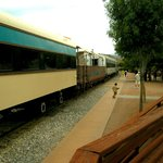 The Verde Canyon train