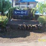 Kona Reef Sign on Alii Drive