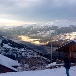 view from the chalet