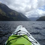 Break in the clouds on the all day kayak