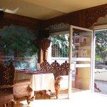 Interiøret i den smukke restaurant Delhi