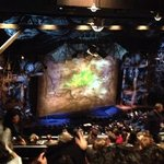Wicked!  Gershwin Theatre opposite hotel
