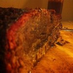 Slow smoked brisket