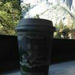 Ahwahnee coffee and view from our room