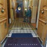 Entry to Hotel Marignan