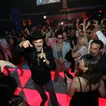 Randy Jones of the Village People at Boogie Nights Evansville at the District at the Tropicana
