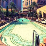Pool at the Venetian...accessible via the Palazzo pool