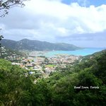 View of Road Town, Tortola