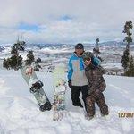 Grandby Ski Resort overlooking the Grandby Ranch