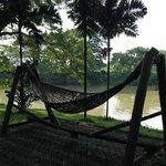 Hamac avec vue sur la rivière Ping