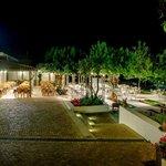Ambrosia Garden Restaurant by Night