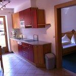 Apartment mit Schlafzimmer und Wohnzimmer